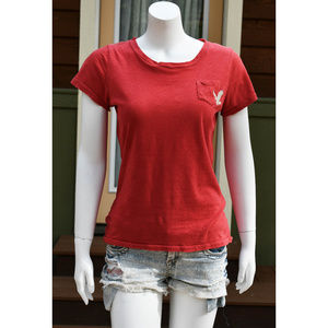 Vintage AEO Size M Red T-Shirt